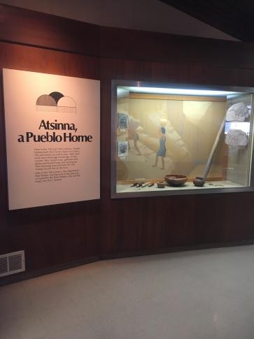 Museum inside Visitor Center